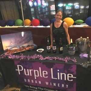Chocolate Fest Purple Line