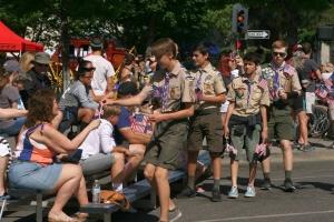 Pioneer Boy Scouts