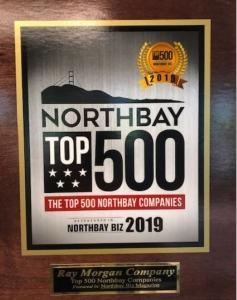 North Bay Award Plaque