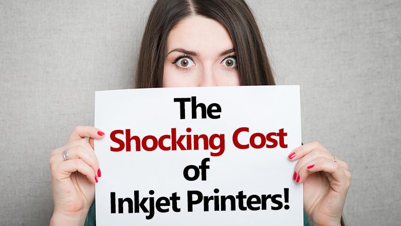 shocking cost of inkjet printers