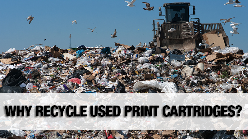 Why Recycle Used Print Cartridges